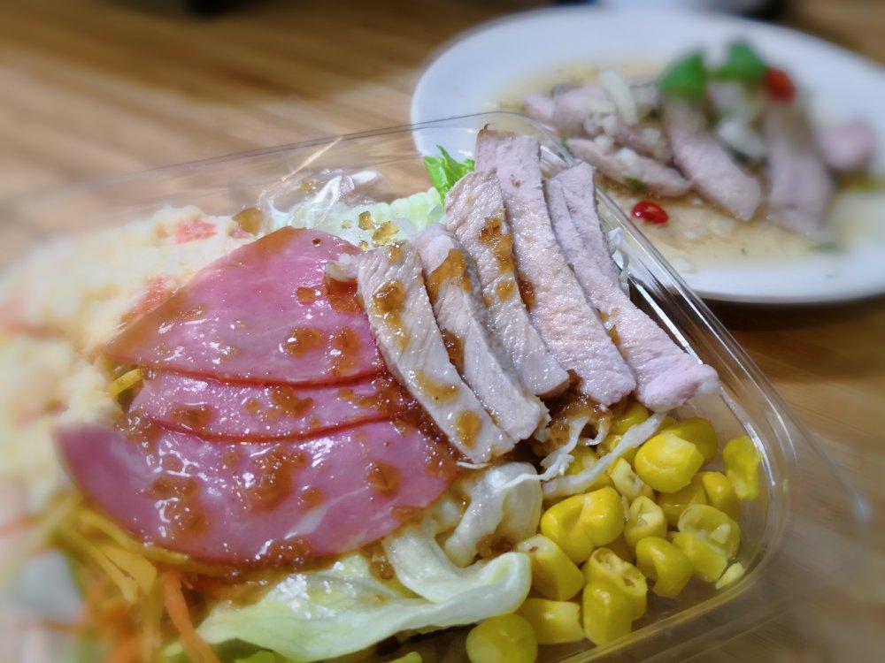 豬肉沙拉@711上班族瘦身輕食