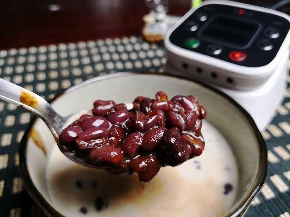 智能做菜紅豆湯