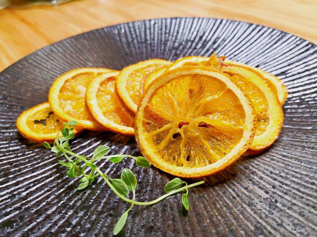 蒸烤 低溫烘焙糖漬橙片